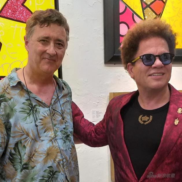 与罗梅洛·布瑞托(R。 Britto)在劳德代尔堡
