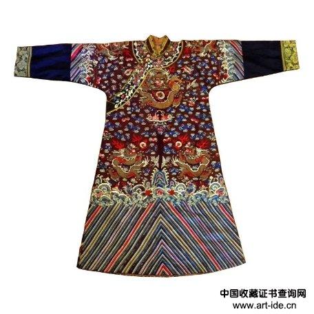 龙袍 Lot 82    起拍价格:2,000 美元