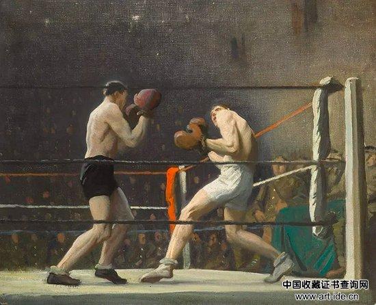 劳拉・奈特,《拳击营》(Boxing in Camp),1918